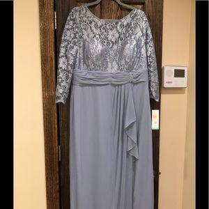 2f4fc4fa045 Patra Dresses - NEW Formal Evening Dress Plus Size 18 Blue PATRA